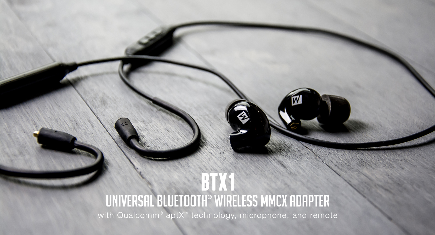 Mee Audio Btx1 Universal Bluetooth Wireless Mmcx Adapter Cable With Bt Phone Wiring Stream Without Wires