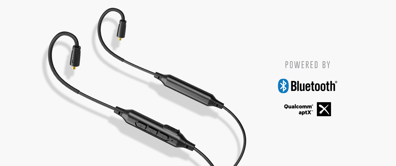 Mee Audio Btx1 Universal Bluetooth Wireless Mmcx Adapter Cable With Bt Phone Wiring Ergonomic Design Built In Flex Wire Earhooks Ensures A Secure Fit For All Activities So You Can Enjoy Freedom From Wires