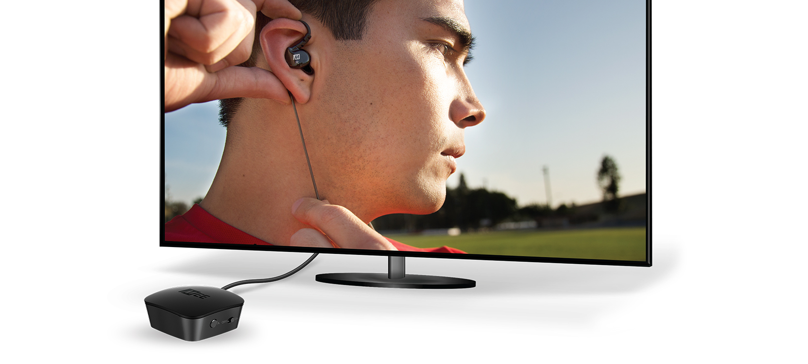Connect Universal Dual Headphone Bluetooth Audio Transmitter For Tv No Picture And On My There Is White Noise Need To Tune The Right Frequency Way A Stranger Listen In Your Stream Simply By Having Similar
